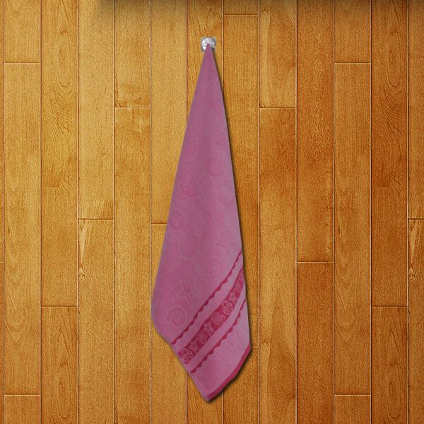 Soft Bath Towel Velour Jacquard (27 X 57 inch)