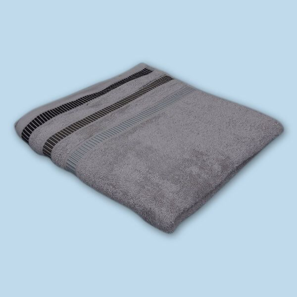 Plain Jacquard Bath Towel (27X54 inch)