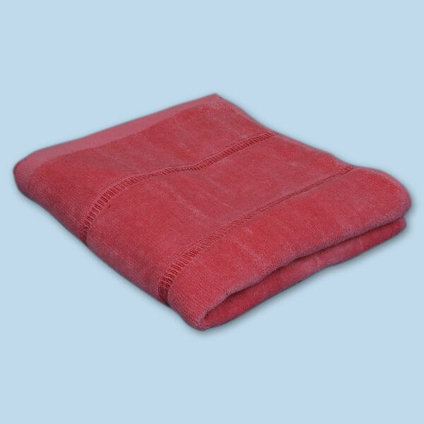 Graceful Bath Towel Velour Plain (27X54 inch)