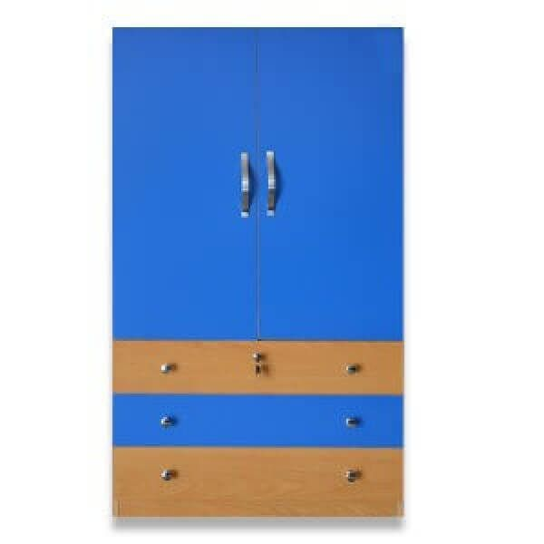 Blue Stylish Wardrobe