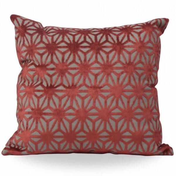 Blush Cushion With Filling