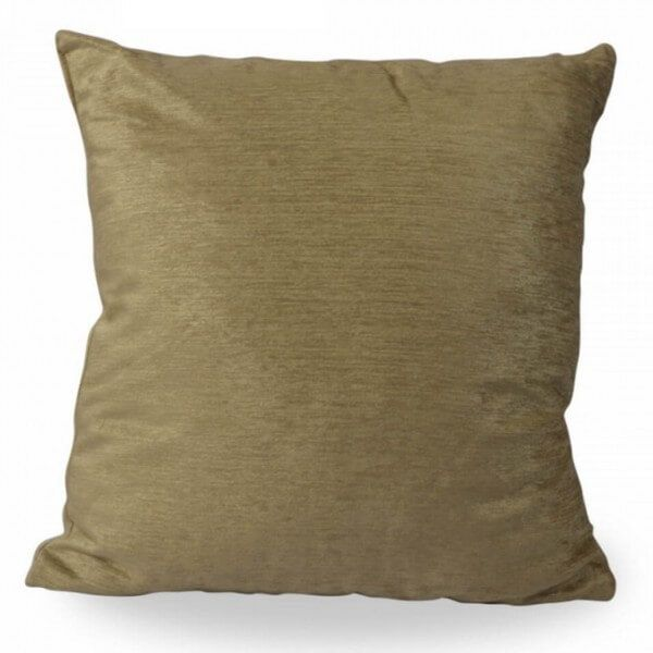 Gold Cushion With Filling