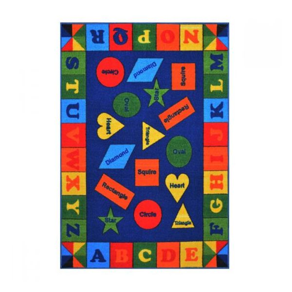 Mathematical Shape Kids Rugs