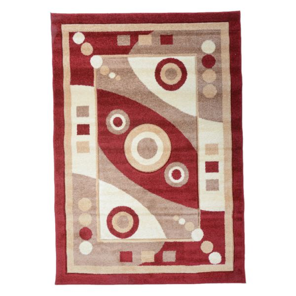Abeer Multi Colore Rug (3x5 Ft)