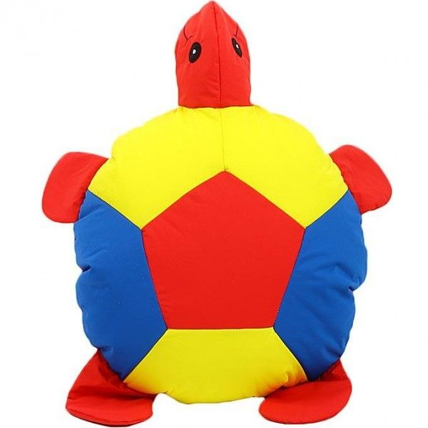 Bean Bag Kid Floor Cushion Turtle - Multi