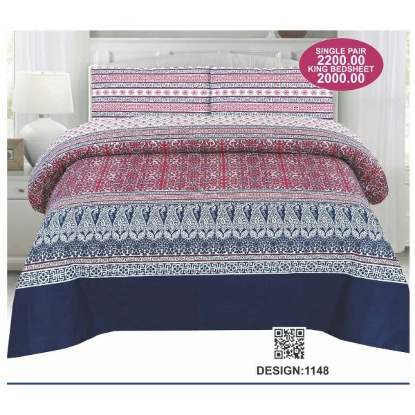 Sajalo Bed Sheet 1148
