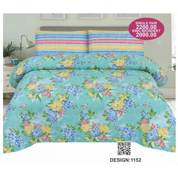 Sajalo Bed Sheet 1152