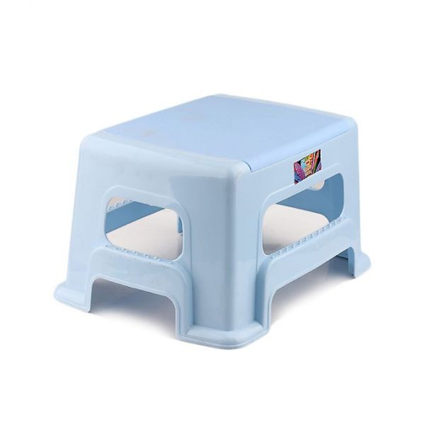 Sky Blue Toilet Stool