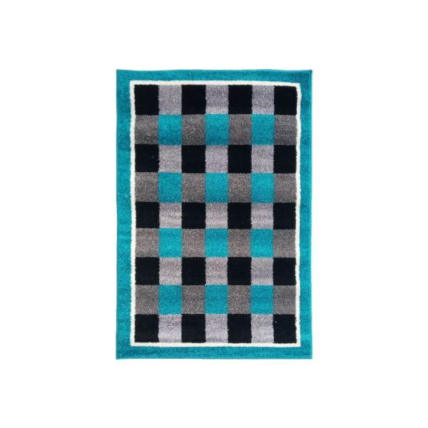 Sajalo Blue Golden Rug 3x5 ft