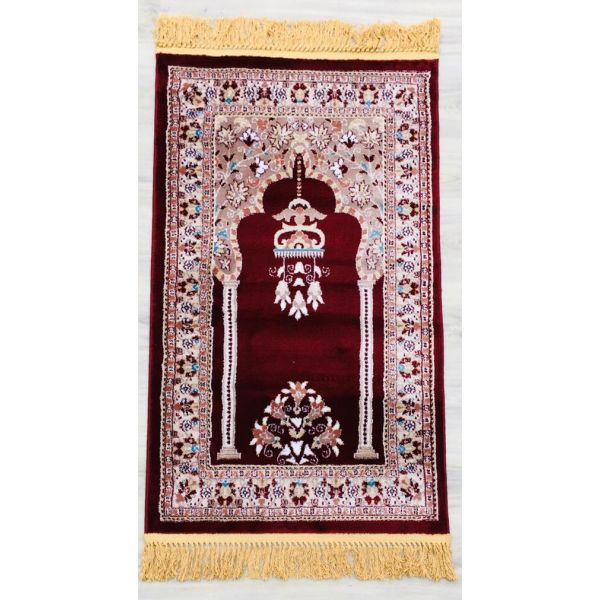 Sajalo Almas Turkish Red Jai Namaz 80x120 cm