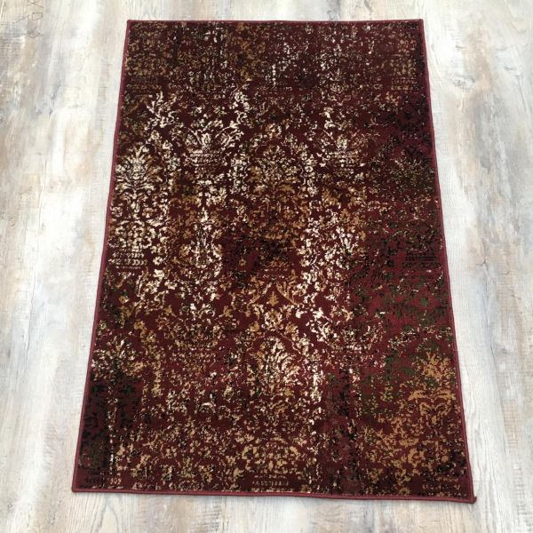 Excellent Red Rug 4x6 ft