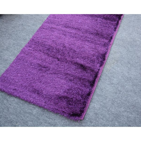 S.A Purple Shaggy Runner 2.5x10 ft