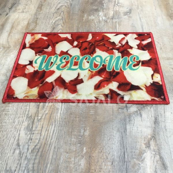 sajalo Red Flower Digi Mat 40x60