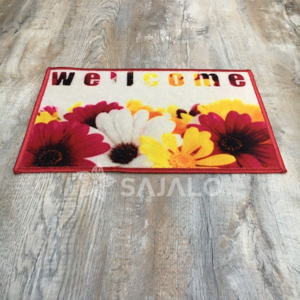 Sajalo Flower Well Come Digi Mat 40x60